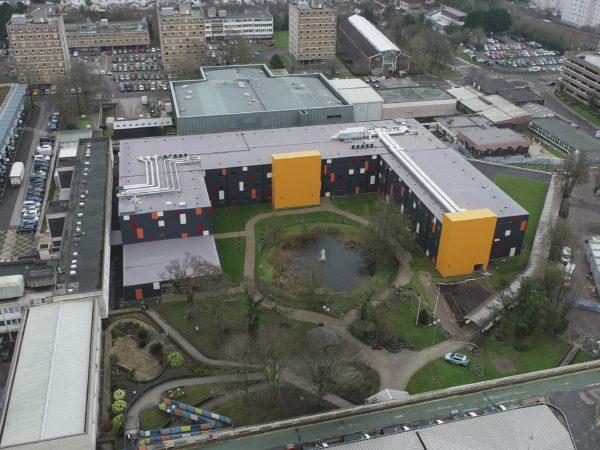 Cardiff Hospital Exterior